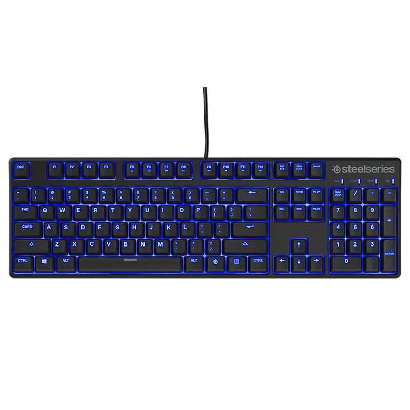 JD Коллекция steelseries apex m400 blue edition game machine keyboard black