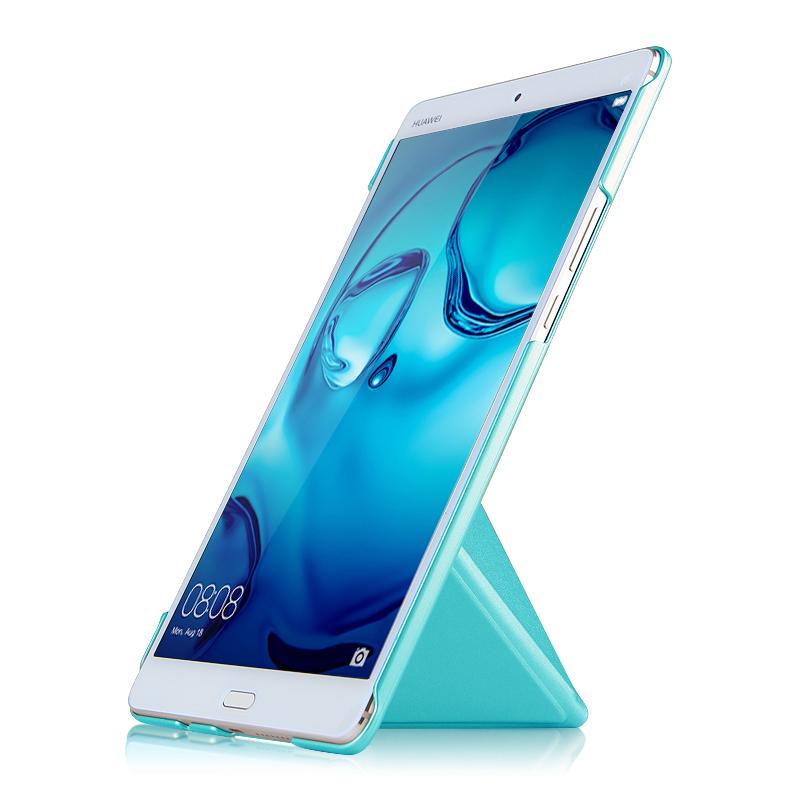JD Коллекция Дождь шаблон - синий Huawei M3 media pad m3 pu leather case cover slim smart tablet fundas for huawei mediapad m3 8 4 btv w09 btv dl09 shockproof shell skin