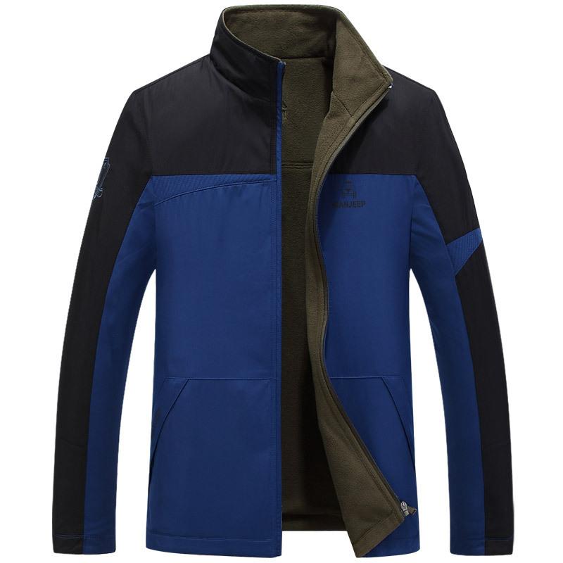 Mink Keer Blue XL yoms куртки мужские куртки с длинными рукавами печати прилив корейский монах воротник молния куртки хетер грей xl 180
