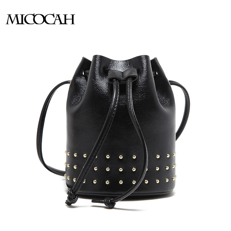MICOCAH черный cardamom genuine leather backpacks cow leather famous brand women s bags girls fashion bag travel bags students backpack