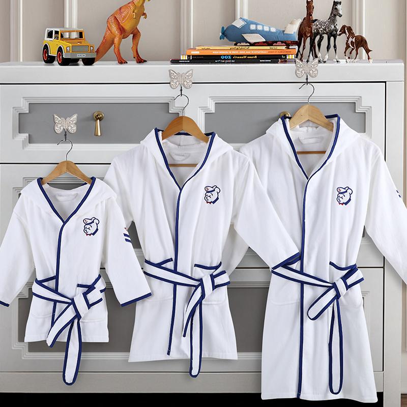 JD Коллекция мальчик халаты банные lelio халат