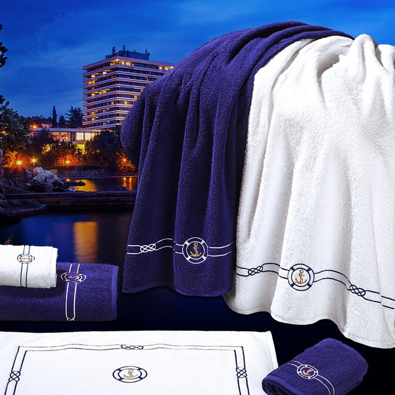 JD Коллекция белый Банное полотенце 150 80см