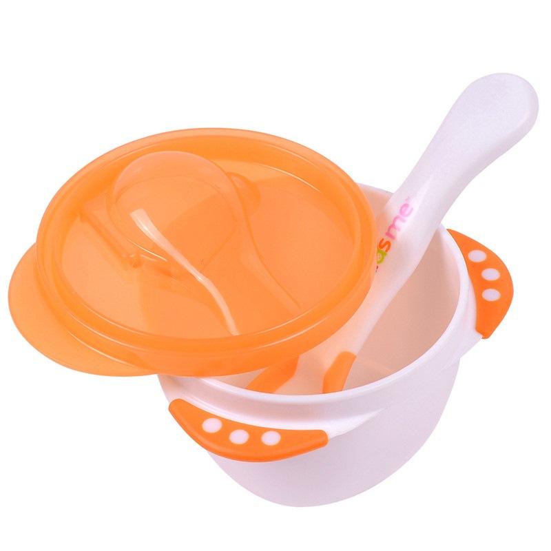 JD Коллекция Дополнительной с ложкой миску случайный цвет дефолт поцелуй меня детские безопасные кусачки для ногтей
