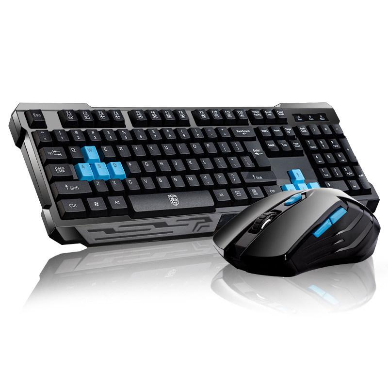 RAJFOO элегантный черный бамбуковая клавиатура ku 308 клавиатура и мышь набор клавиатура и мышь проводная клавиатура бизнес