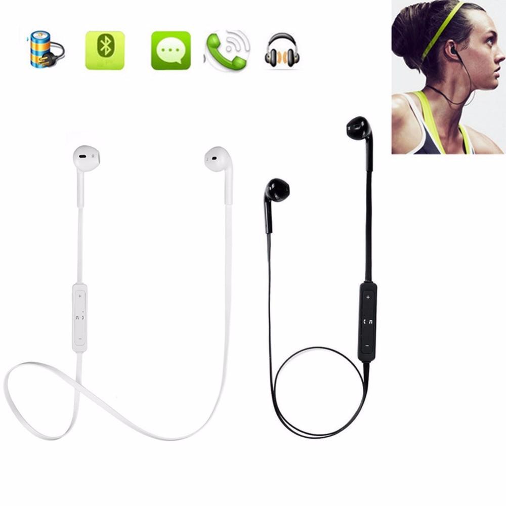 MyMei Белый цвет беспроводная связь bluetooth стерео гарнитура спортивные наушники наушники для smartphone