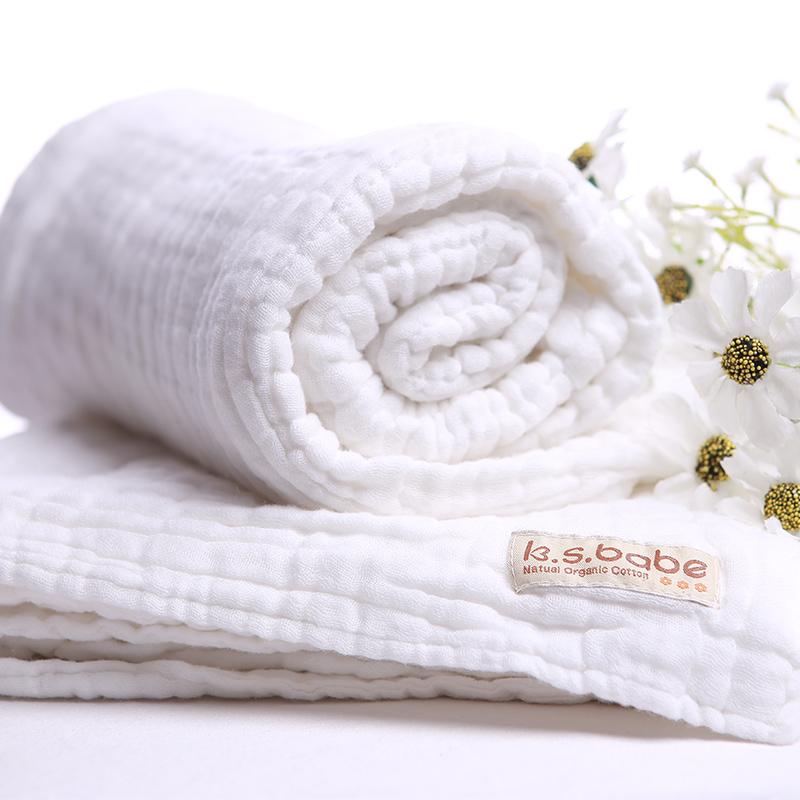 JD Коллекция Банное полотенце марли большой ярдов дефолт хлопок эпохи purcotton детей марля одеяло детское постельное белье 135x120cm 1 цзянь дерево зеленый фон белые пятна