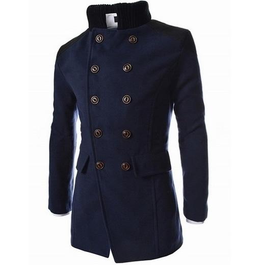 CT&HF Тёмный синий цвет Номер XXL пальто via lattea пальто