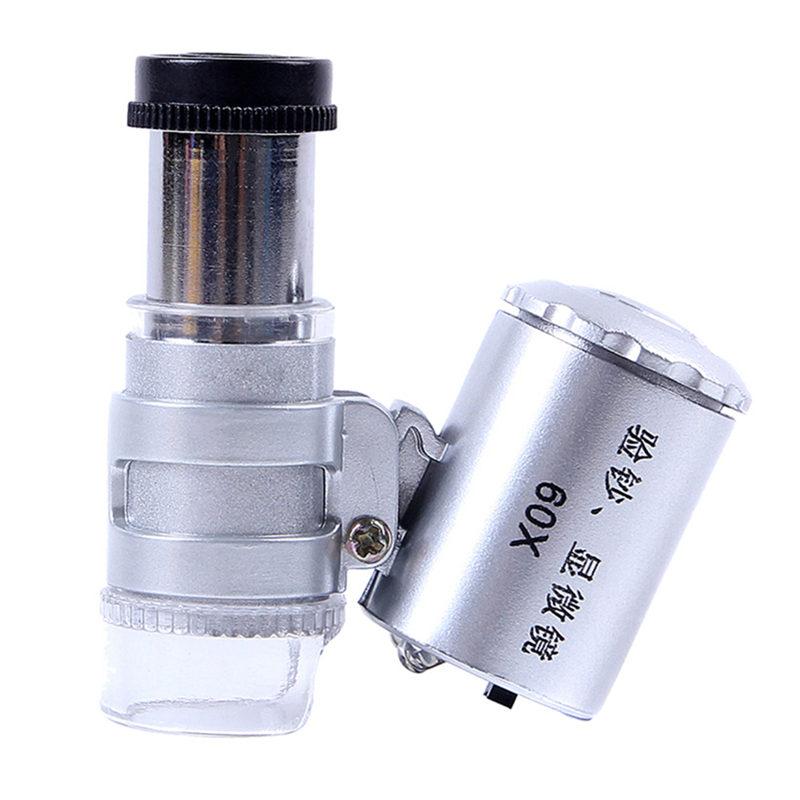 JD Коллекция 60 раз с световым микроскопом нефрита