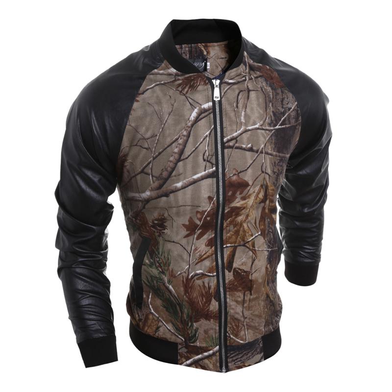 CT&HF Номер XL yoms куртки мужские куртки с длинными рукавами печати прилив корейский монах воротник молния куртки хетер грей xl 180