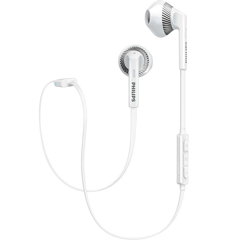PHILIPS белый дефолт philips philips беспроводной bluetooth гарнитуры уха телефонный звонок shb1102