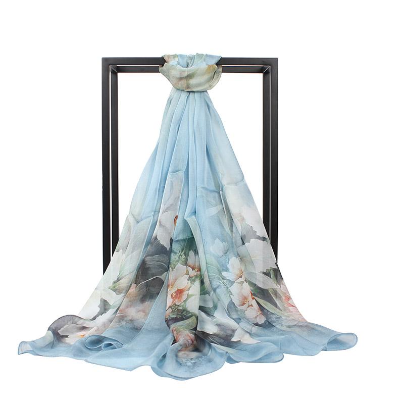 JD Коллекция Голубые лилии дефолт [супермаркет] г жа бао шэн сян jingdong большой квадратный шелковый шарф набивные платки увеличить s9202 бледные розы