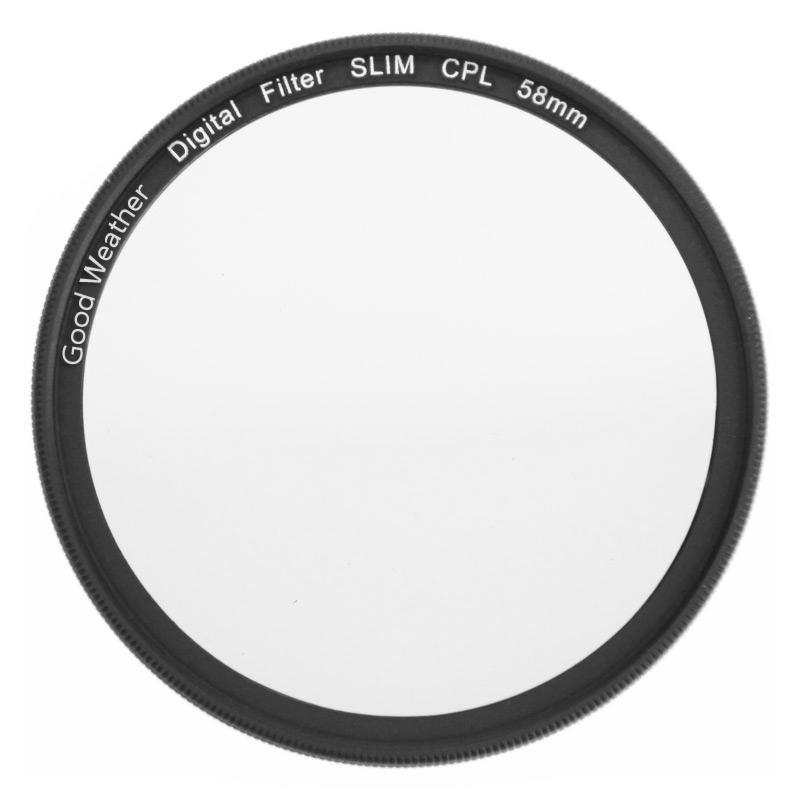 JD Коллекция Вход 58mm тонкий поляризатор CPL хорошая погода 67мм ультра тонкий тонкий uv фильтр для canon 700d18 135 nikon d7200 d5200 18 105 fuji sony slr одиночный микро объектив камеры