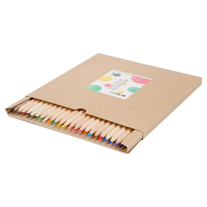 JD Коллекция бумажкая коробка 24 цвета цветные карандаши цветные карандаши bic kids evolution 24 цвета