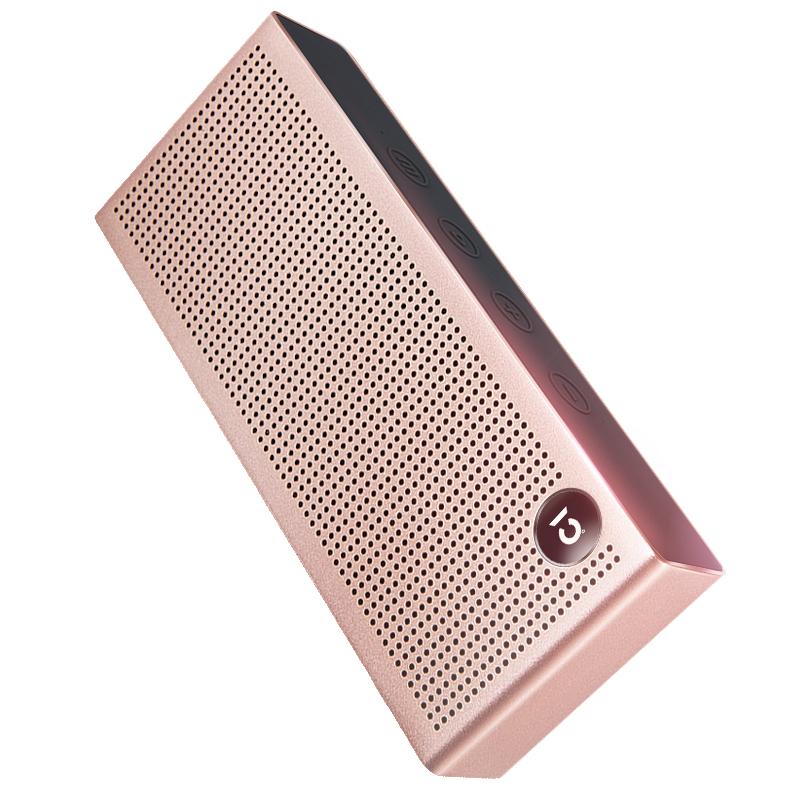 JD Коллекция розовое золото Свет Bluetooth Speaker роскошь T6