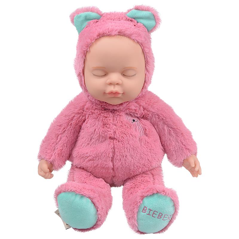 JD Коллекция розовый дефолт в новый медведь haunt boonic медведи плюшевые мягкие игрушки бушуют подростковый рай гиги плюшевые куклы 30см плюша подросток