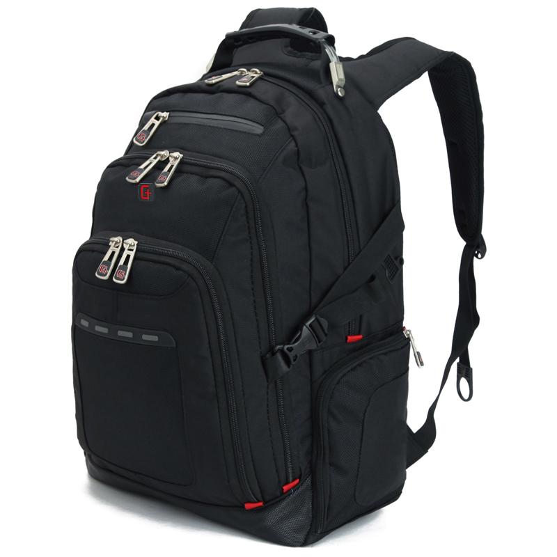 JD Коллекция Мужская 15,6-дюймовый черный мешок компьютера SA-9669 дефолт joycollection