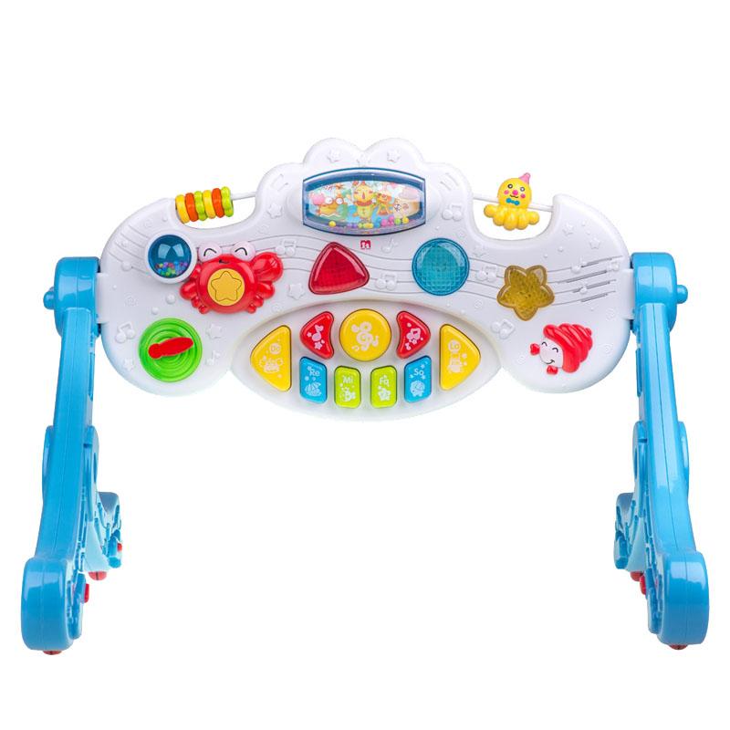 JD Коллекция Океан музыки фитнес-кадр дефолт доктор doll dr b раннего детства образовательные детские игрушки детские фитнес стеллаж новорожденных лапка цветка детский фитнес кадр