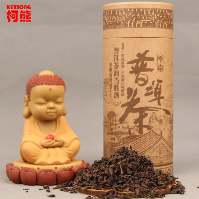 HelloYoung 2008 год спелый чай pu erh loose tea china yunnan shu puer bag упаковка 250г