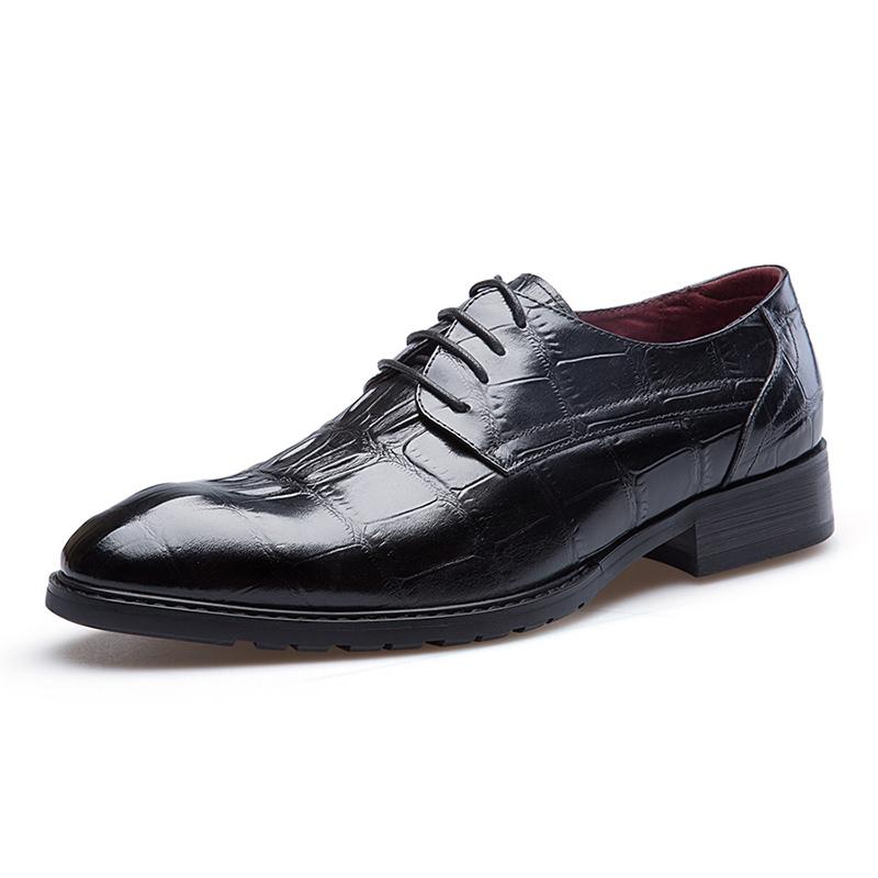 JD Коллекция черный 40 цезарь great caesar деловые повседневные ботинки кружевные тренды индивидуальные кроссовки черные 40 ярдов