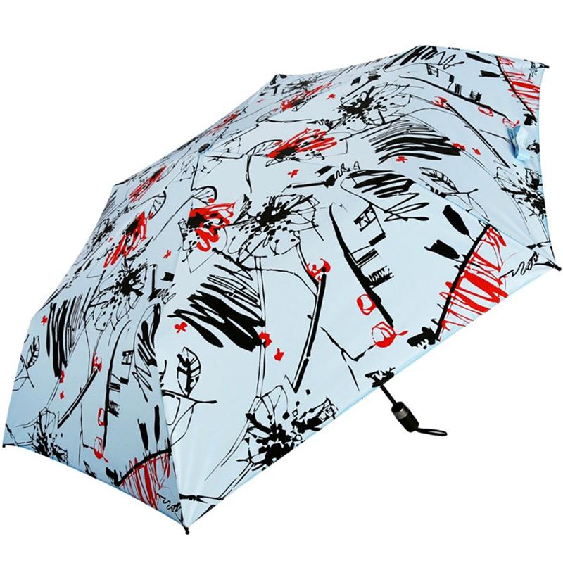 JD Коллекция синий дефолт jingdong [супермаркет] рай зонтик upf50 весь оттенок черного винила передачи сложенный зонтик зонтик зонт от солнца восход 30309dlcj