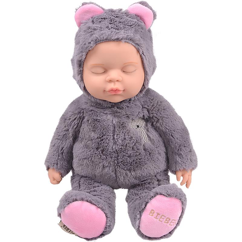 JD Коллекция серый дефолт в новый медведь haunt boonic медведи плюшевые мягкие игрушки бушуют подростковый рай гиги плюшевые куклы 30см плюша подросток