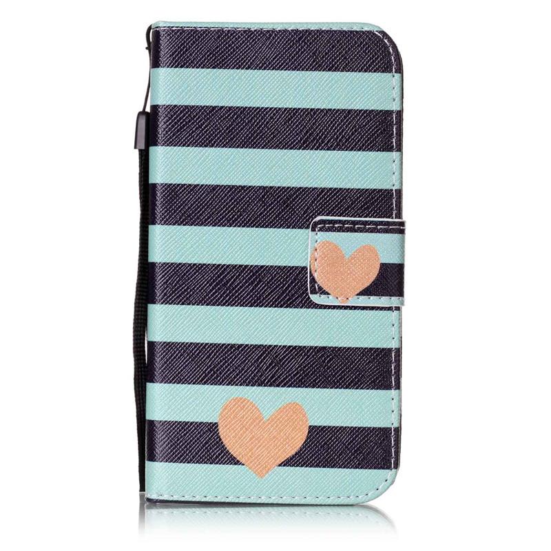 Чехол для Samsung Galaxy S5G9006V blue stripes дизайн pu кожа флип обложка кошелек для карты памяти чехол для samsung galaxy s4 i9500