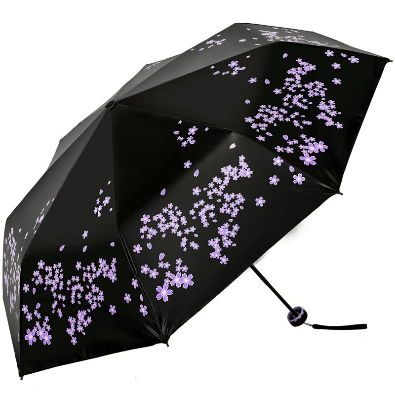 JD Коллекция фиолетовый дефолт зонт женский isotoner ниагара 4 сложения полный автомат цвет черный
