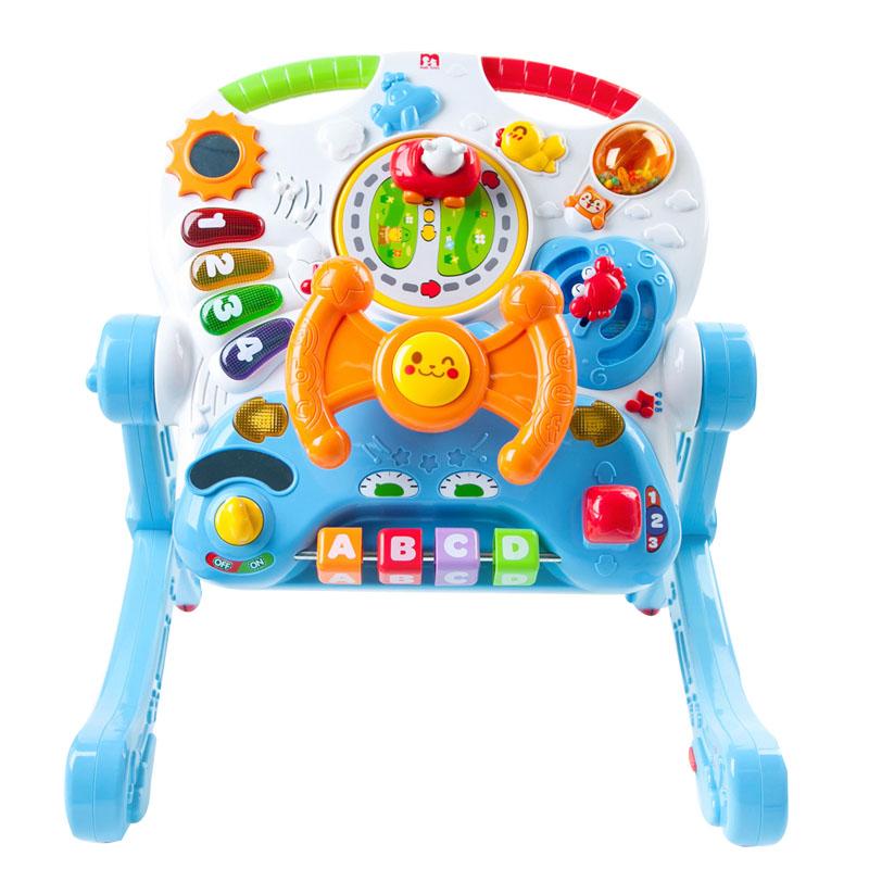JD Коллекция Обучение расти с тремя таблицами дефолт малибу игрушки mali игрушки развивающие игрушки fun барабан ролл барабан ударил музыкальных инструментов детские игрушки t3002