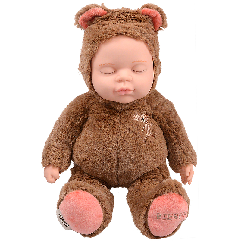 JD Коллекция коричневый дефолт в новый медведь haunt boonic медведи плюшевые мягкие игрушки бушуют подростковый рай гиги плюшевые куклы 30см плюша подросток