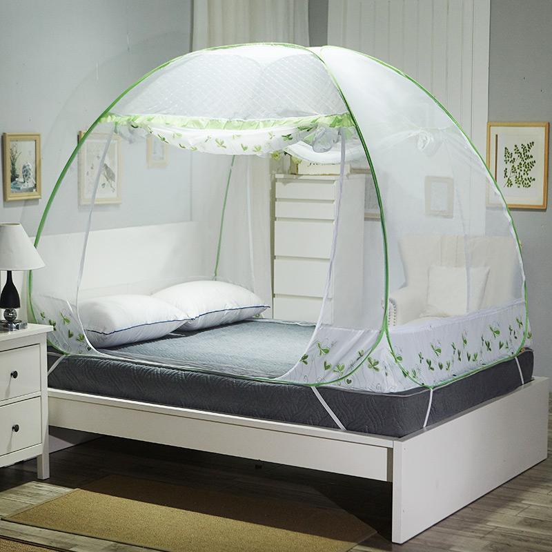 JD Коллекция Трехдверный - зеленый Применимое 15 м кровать окна москитные сетки
