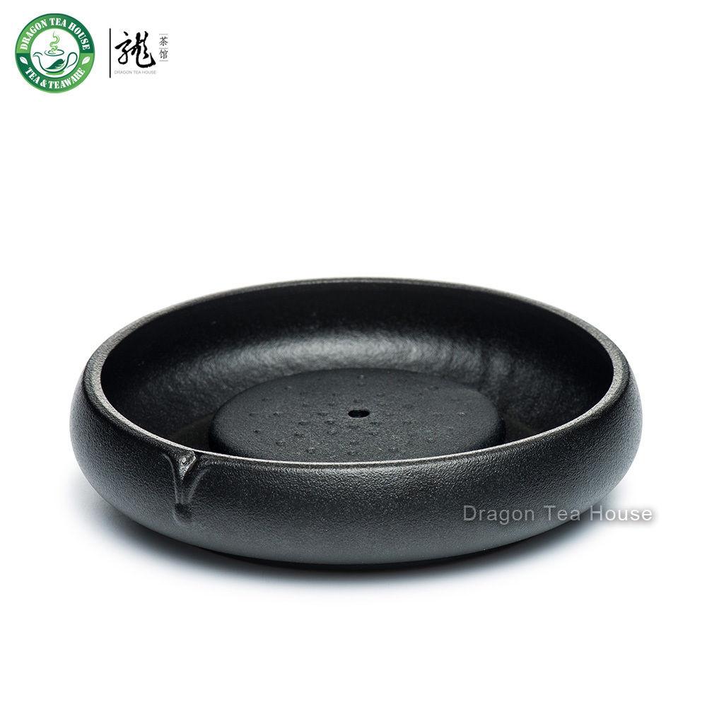 Dragon Tea House черный zen керамический китайский чайник gongfu заваривания чая обслуживание teaware 180мл 6 08oz