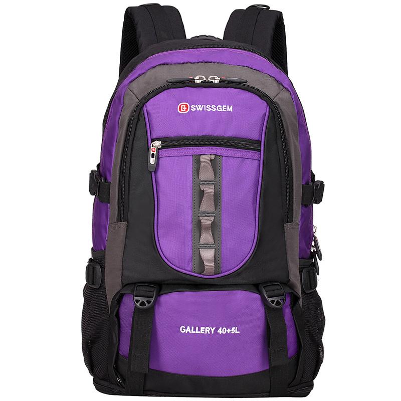 JD Коллекция Большие емкости альпинистские сумки SA-9820 фиолетовый дефолт