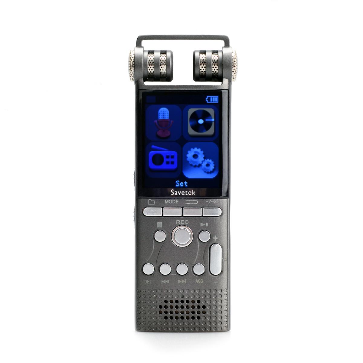 Savetek 4gb digital hidden audio dvr voice recorder pen