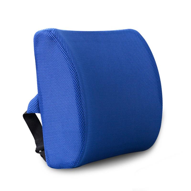 JD Коллекция Сапфир синий сетка дефолт автомобиль шеи подушки автомобиля поясничного поясничная на четыре сезона универсальные creative авто аксессуары интерьера пакет почты