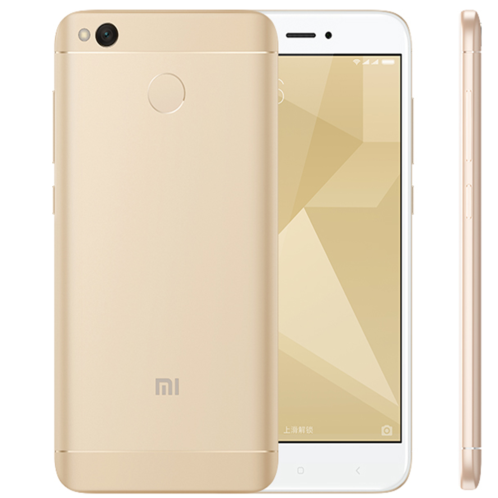 Mi золото global version xiaomi redmi 4x 3gb 32gb smartphone black