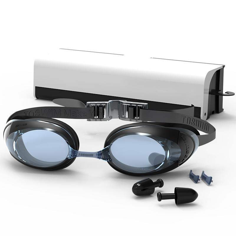 JD Коллекция Плоский черный дефолт очки плавательные larsen s45p серебро тре