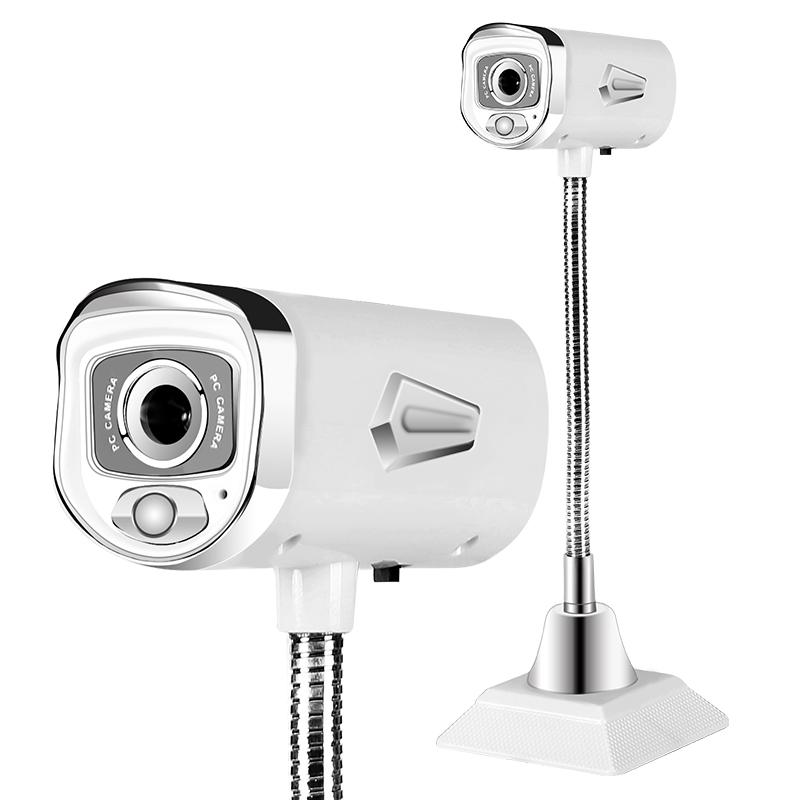 JD Коллекция Белый Apple ashu v80 hd камера с микрофоном для настольных компьютеров и ноутбуков