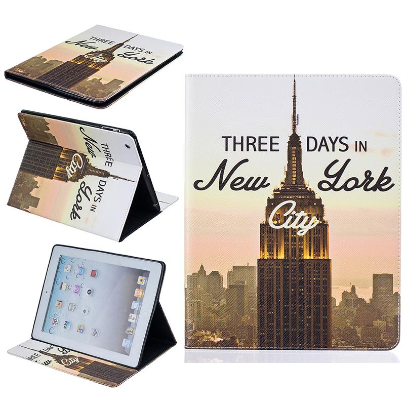 GANGXUN классическая флип обложка с тиснением в стиле tower tower с функцией подставки и слотом для кредитных карт для ipad mini 4