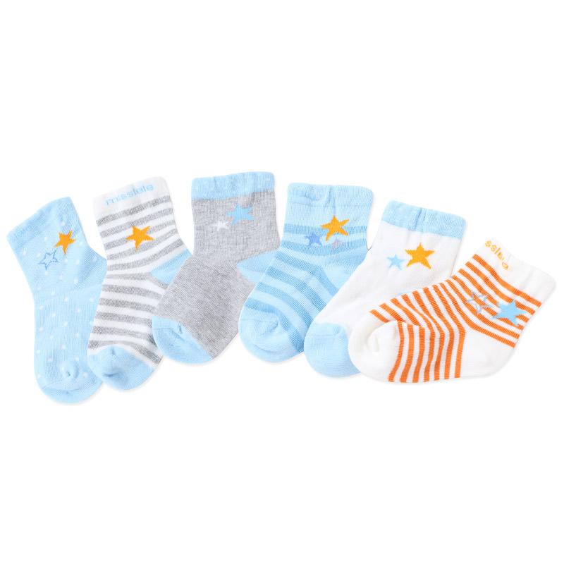JD Коллекция Blue Star 2-3 года шесть пар платья дефолт миллер рыба детских носков новорожденного four seasons плоских хлопчатобумажные носки полные дети 3 5 лет шесть пар платья синего