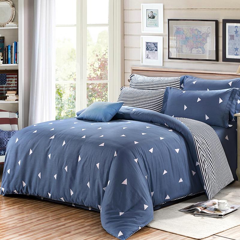 JD Коллекция направление 15 18м простыня mercury постельные принадлежности набор 4 штуки простыня с набивной чехол на одеяло 100