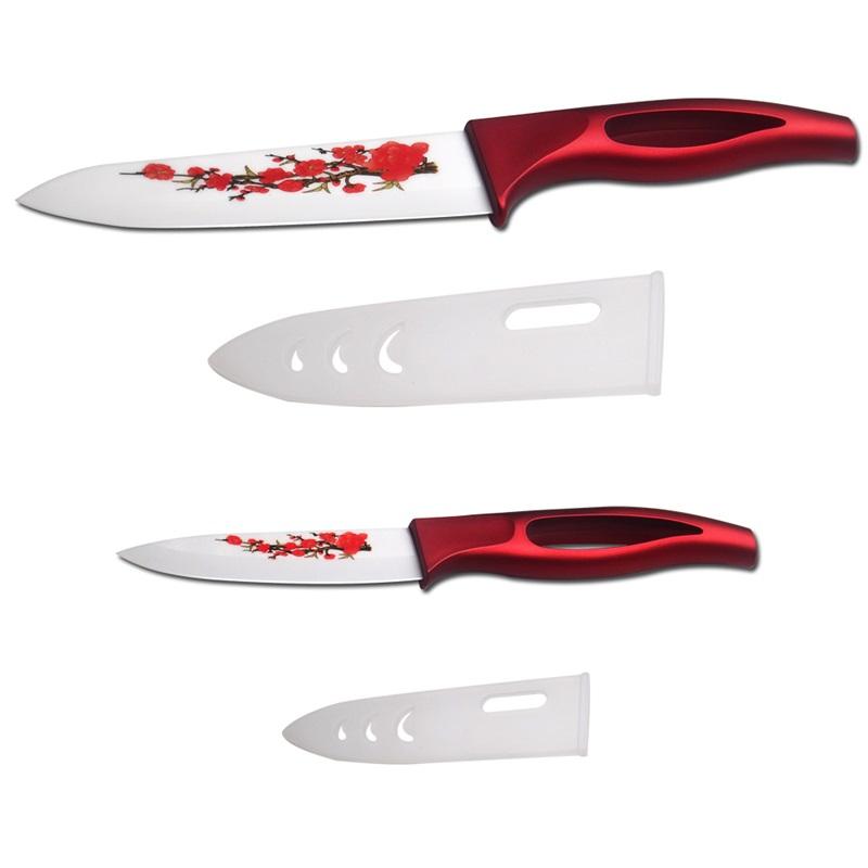 XYJ xyj бренд лучшие керамические ножи 3 6 дюймовый фруктовый нож шеф два piece set кухонные ножи высокого качества нож