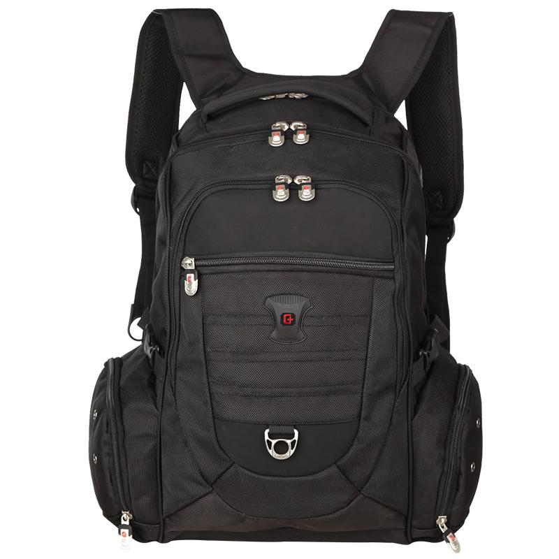 JD Коллекция 156-дюймовый ноутбук рюкзак SA-8111 черный дефолт swissgear плечо мешок компьютера 14 дюймов для мужчин и женщин ранцы apple ноутбук рюкзак sa 1708 army green