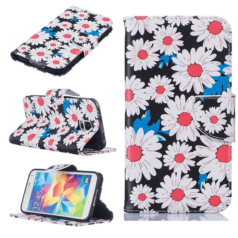 GANGXUN мити кожа samsung s5 flip покрытия samsung galaxy s5 дело с слот для карт i9600 g900 оригинал phone accessories