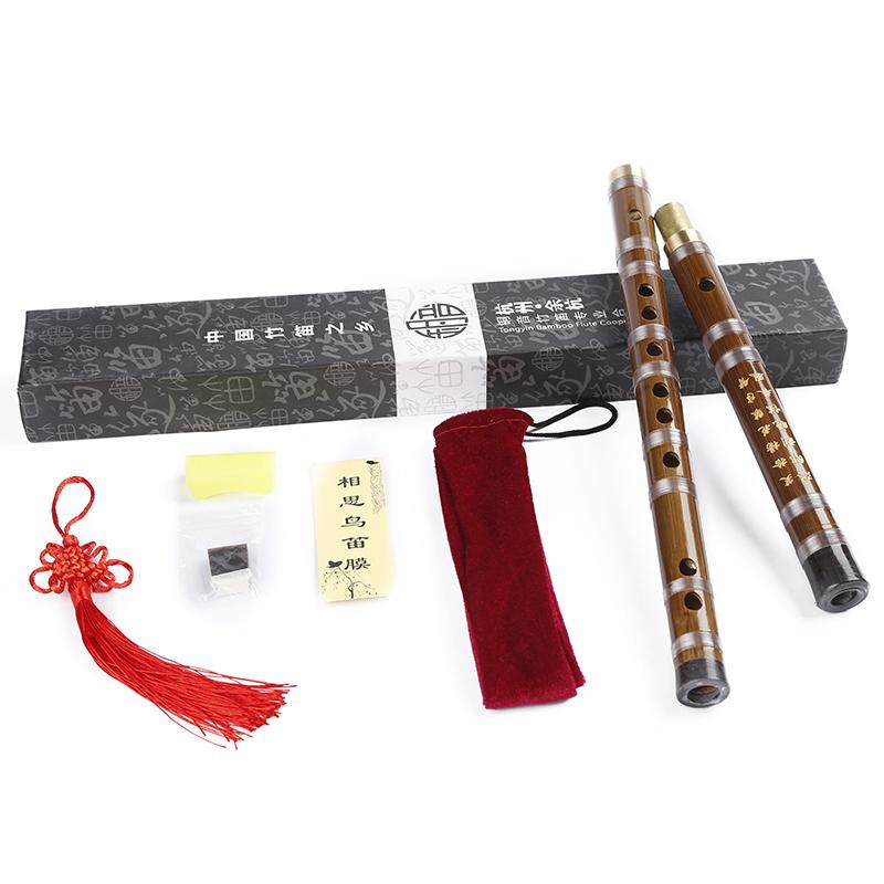 JD Коллекция Е однопроцессорный бамбуковая флейта мелодия дефолт флейта позвоночник