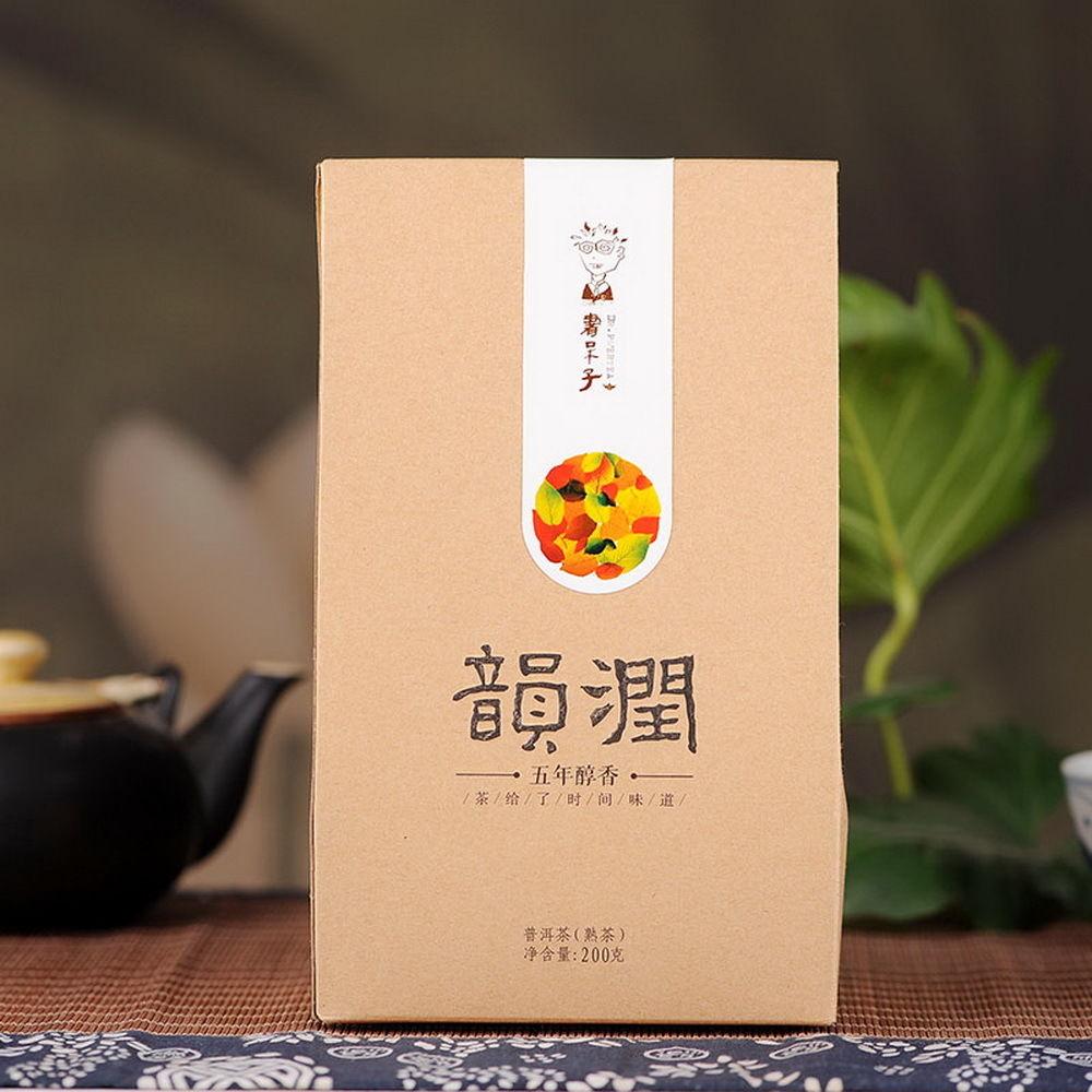 Dragon Tea House pu erh tea pick