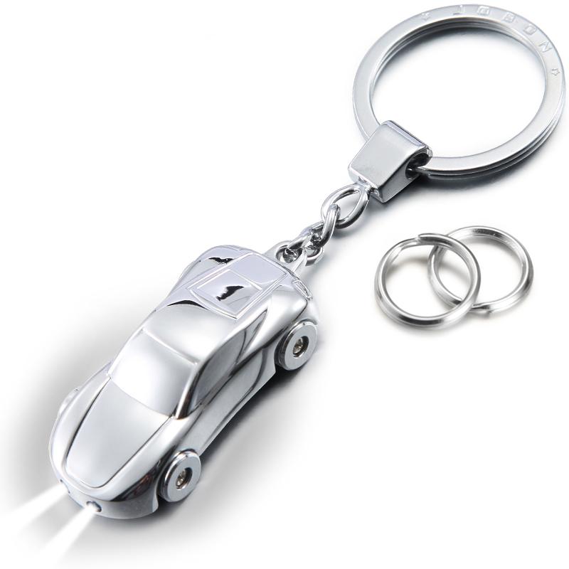 JD Коллекция Прохладная работа модели автомобилей серебро дефолт jobon bang bang с двойным кольцом для ключей легко снимать брелок для ключей брелок для ключей брелок для ключей zb 8753g красный розовое золото