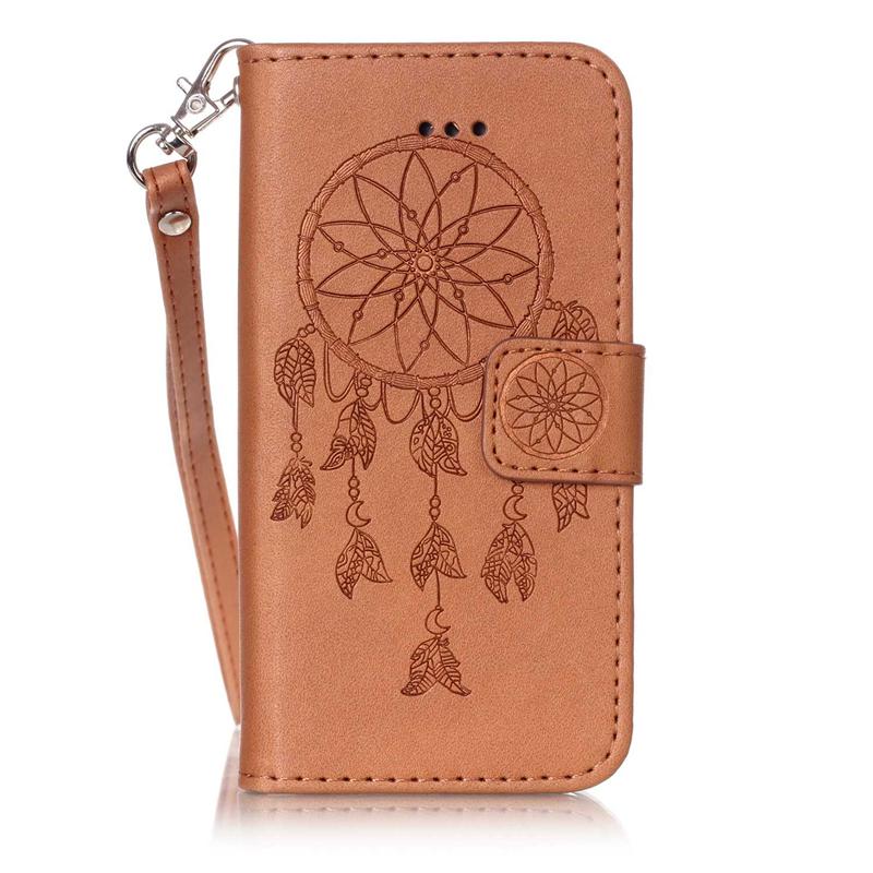 GANGXUN цветочный дизайн кожа pu откидная крышка бумажника карты держатель чехол для iphone 7plus