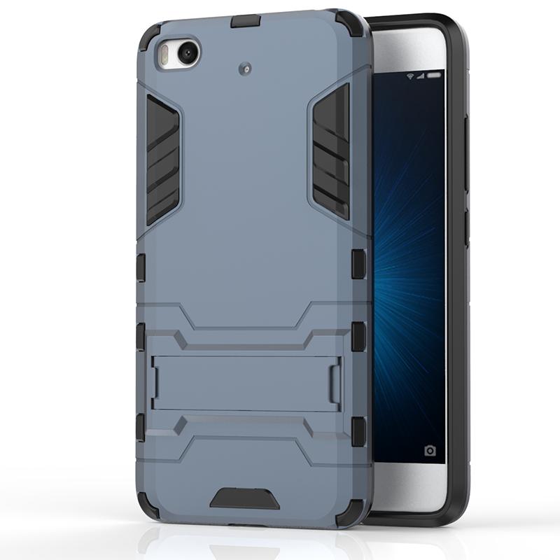 GANGXUN темно синий slim robot armor kickstand ударопрочный жесткий корпус из прочной резины для xiaomi mix