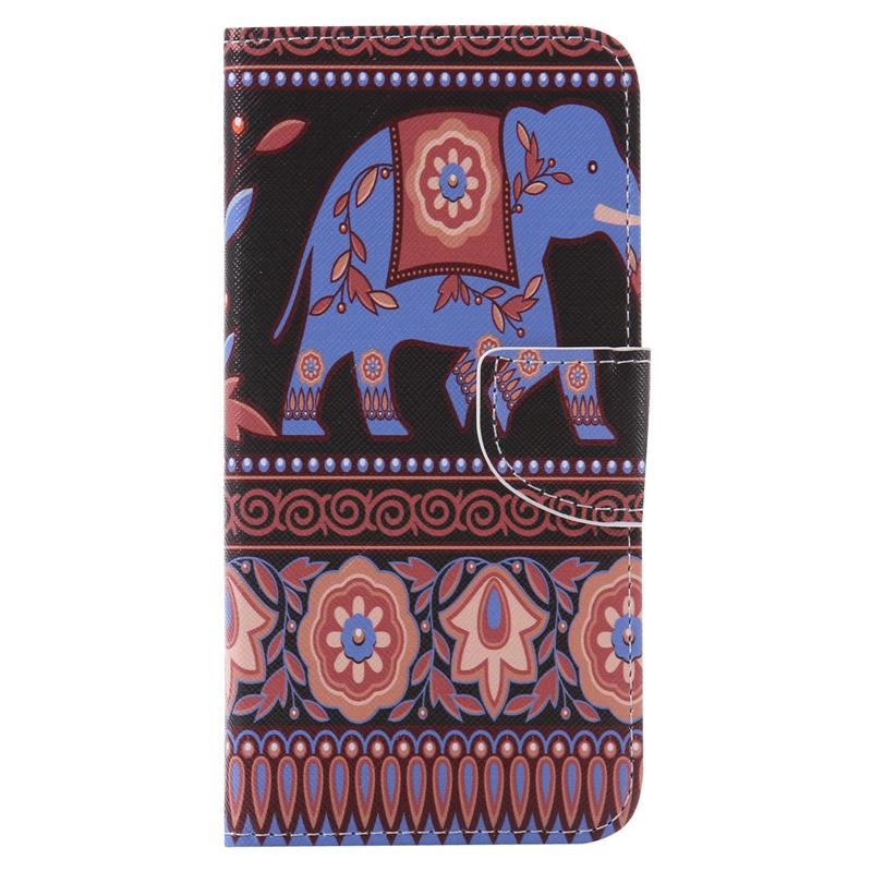 GANGXUN коричневый слон дизайн кожа pu откидной крышки кошелек карты держатель чехол для lg nexus 5x