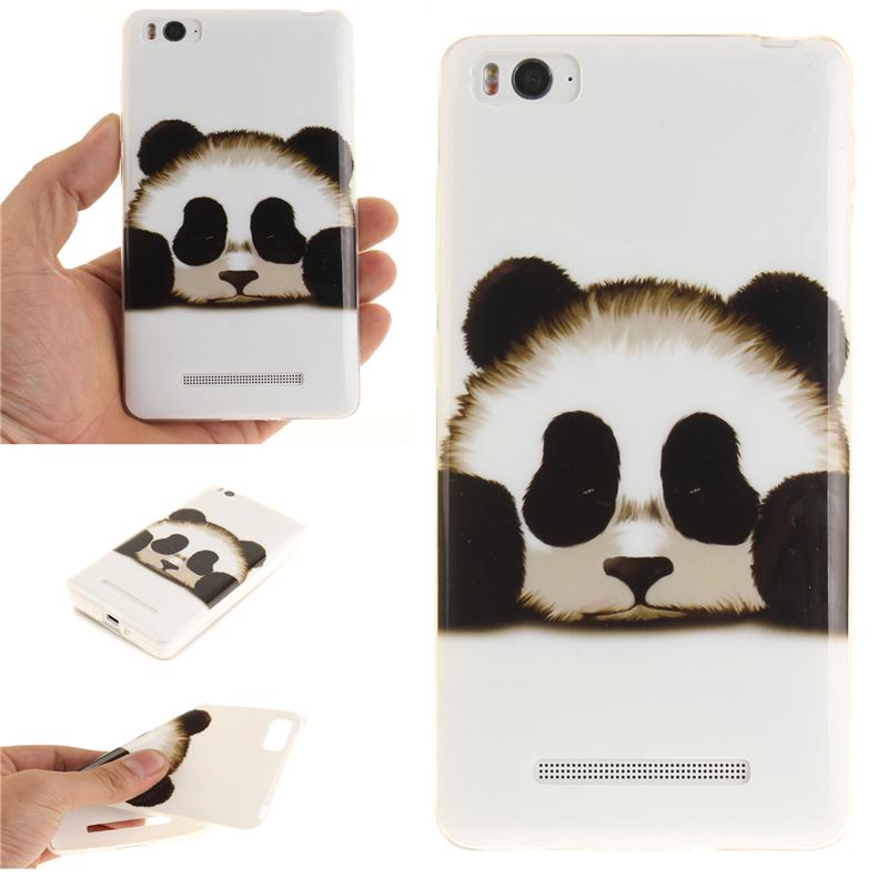 GANGXUN обложка panda шаблон мягкий тонкий тпу резиновый силиконовый гель чехол для lenovo vibe p1